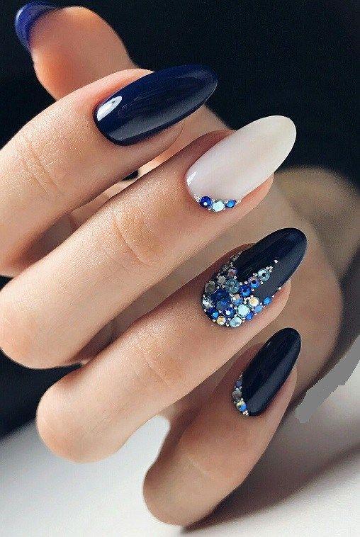Alerta de tendência: Marble Nails ( unhas marmorizadas)
