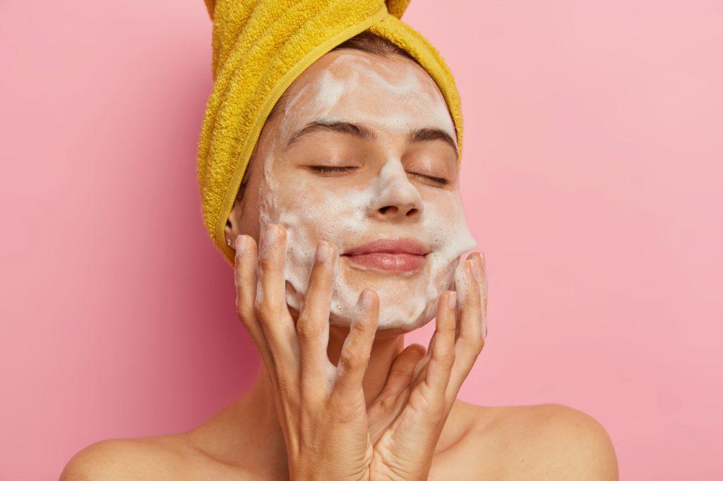 limpeza de pele, argila
