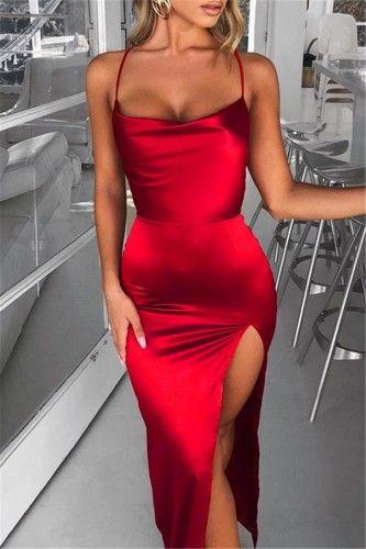 Como Montar Um Look Espetacular Com Um Vestido Vermelho
